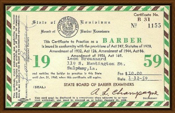 Barber License : Barber License Renewal Tennessee